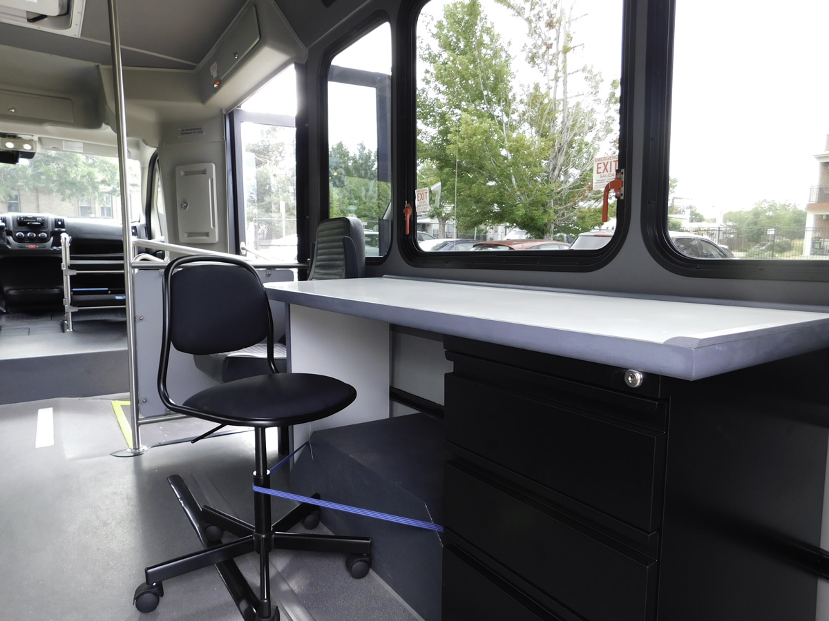Mobile Unit single chair