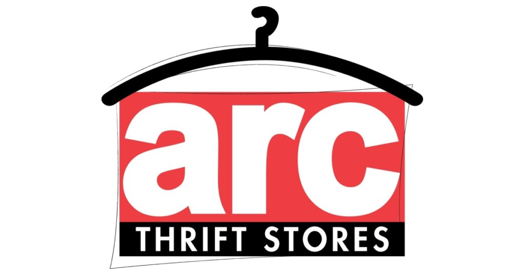 The logo for Arc Thrift Stores.