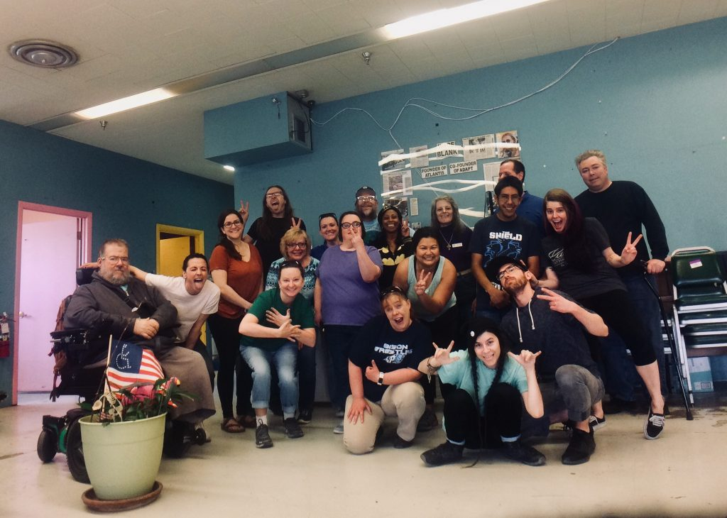 Atlantis Community, Inc. staff photo during moving